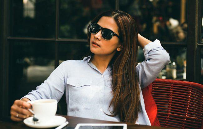 Donna relax ricchezza